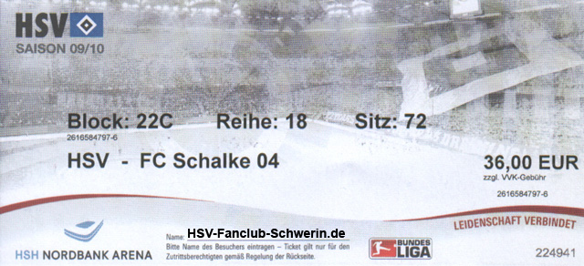 tickets hsv schalke